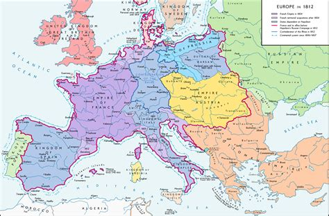 map of europe picture napoleon bonaparte s in european history taking the