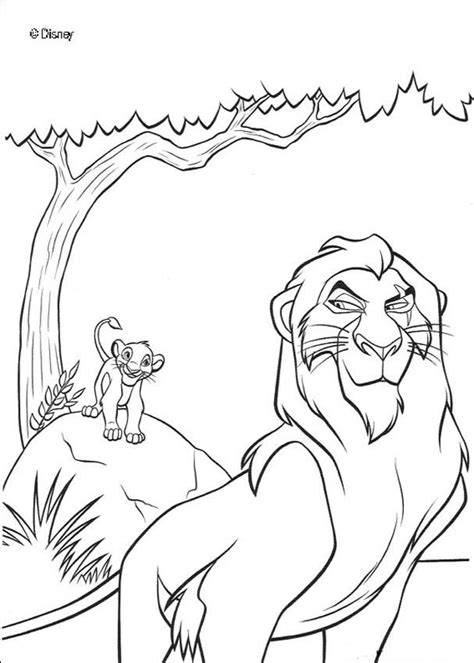 lion king mufasa coloring pages the lion king coloring pages simba and mufasa