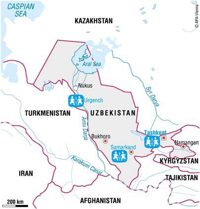 general information on uzbekistan