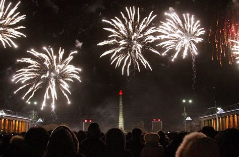 is new year a in korea korea welcomes 2015 with fireworks in pyongyang