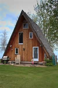 aframe homes mad for a frames i really like this a frame house its the color of wood that god made the
