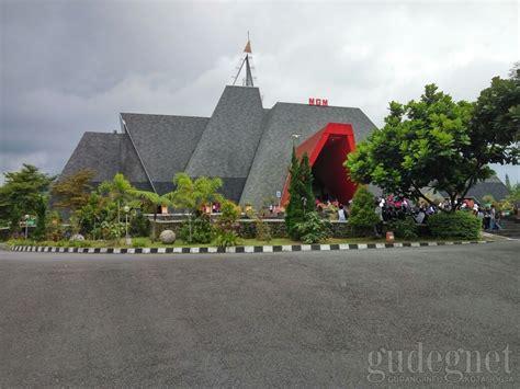 Diorama Jalan Plus Rumah museum gunung api merapi yogyakarta yogya gudegnet