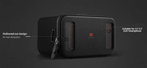 Xiaomi Vr Reality Headset Panorama 3d Glasses Ori 1 original xiaomi mi vr play headset box reality 3d