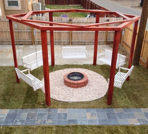 diy pit and swing pit swing sets the owner builder network