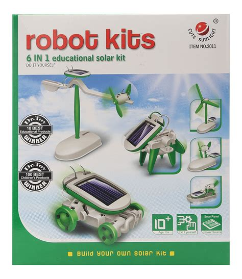 6 In 1 New Solar Educational Diy buy 6 in 1 solar kit educational diy green in india kheliya toys