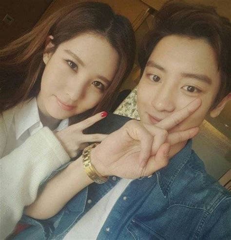 film channyeol exo seohyun and chanyeol wrap up filming their chinese film
