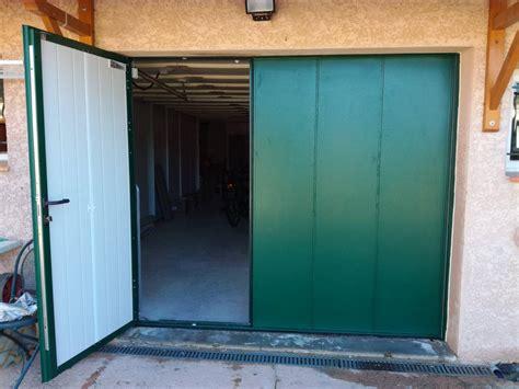 installation d une porte de garage basculante motoris 233