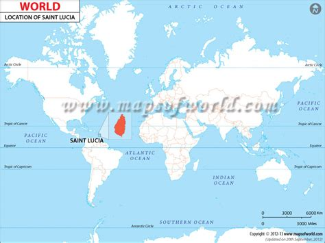 lucia location on world map where is lucia location map of lucia