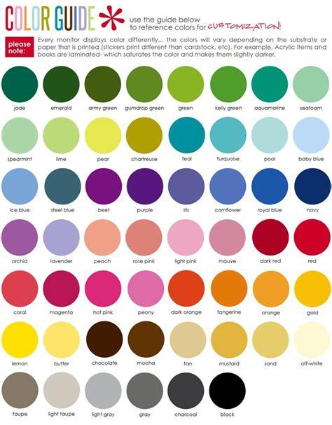 color pairings erin condren color guide erin condren planners