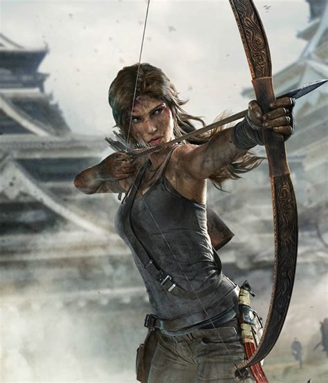 tomb raider definitive edition  behance