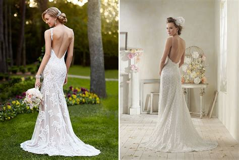 Backless Wedding Dresses by Backless Wedding Dresses With Lacecherry Cherry