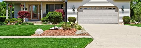 Formal Front Yard Landscaping Ideas - landscaping landscaping ideas for end of driveway