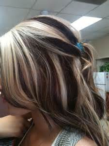 how to dye hair with black chunks blonde hair with dark chunks dark brown hairs