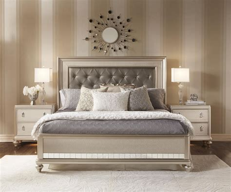 panel bedroom sets diva panel bedroom set from samuel lawrence 8808 255 257