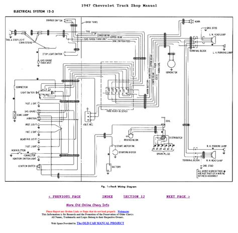 1949 chevy truck wiring diagram html autos post