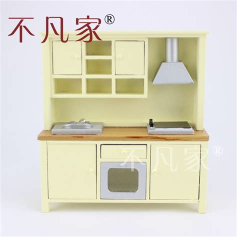 workbench out of kitchen cabinets aliexpress com buy fine dollhouse 1 12 scale miniature