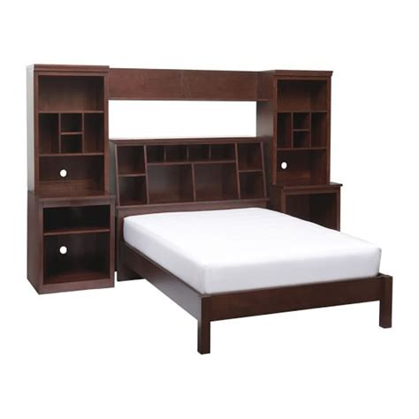 stuff your stuff classic bed system bed towers shelves