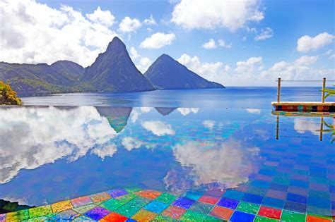 Yt St Luxury two st lucia resorts offer a yin and yang experience