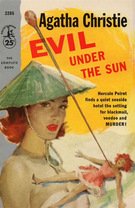 libro evil under the sun agatha christie page 2 pulp covers