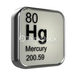 Number Of Protons In Mercury 3d Mercury Element Stock Photo Thinkstock