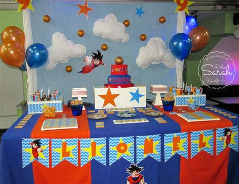 party themes a z dragon ball birthday quot lionel s dragon ball z party