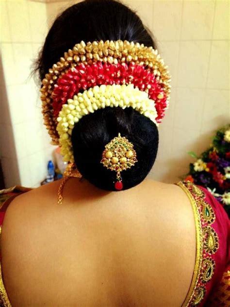 latest bridal hairstyles  wedding sarees indian