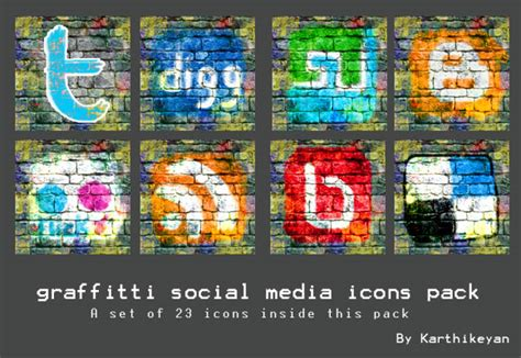 graffiti wallpaper pack graffitti social media icon pack