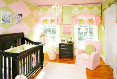pink and green baby room custom nursery art by kimberly top 6 baby girl s room themes