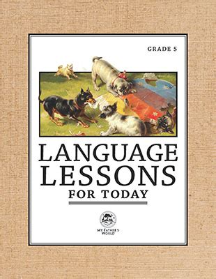 intermediate language lessons classic reprint books language arts homeschool curriculum my s world