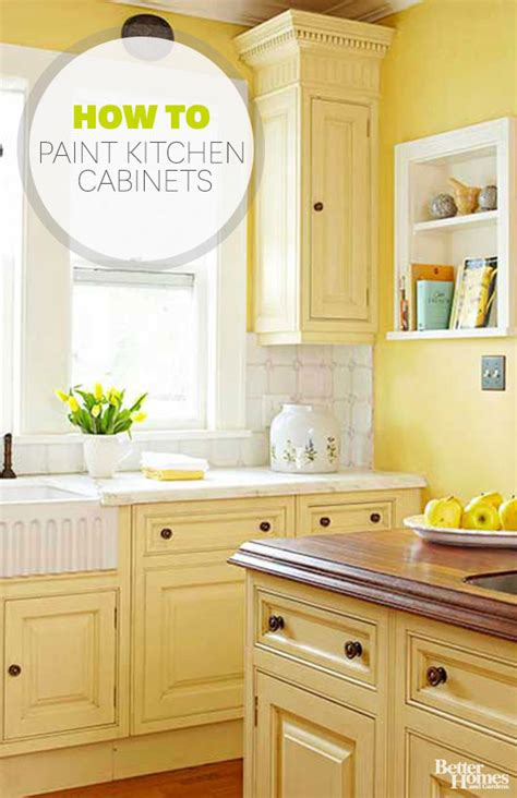 Painted Kitchen Cabinets by How To Paint Kitchen Cabinets