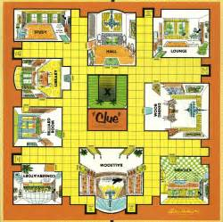free clue board game coloring pages