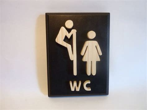 fancy bathroom signs funny wooden black bathroom sign fancy toilet sign for