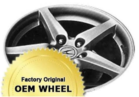 Oem Acura Parts Coupon by Acura Rsx 17x7 5 Spoke Factory Oem Wheel Silver
