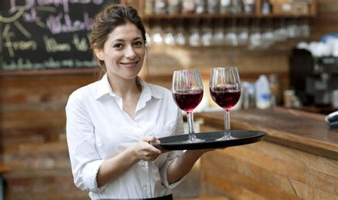 waitress serving drinks www pixshark images galleries with a bite