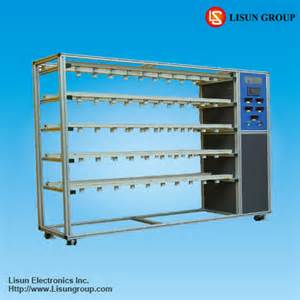 aging and test rack led testing equipments led