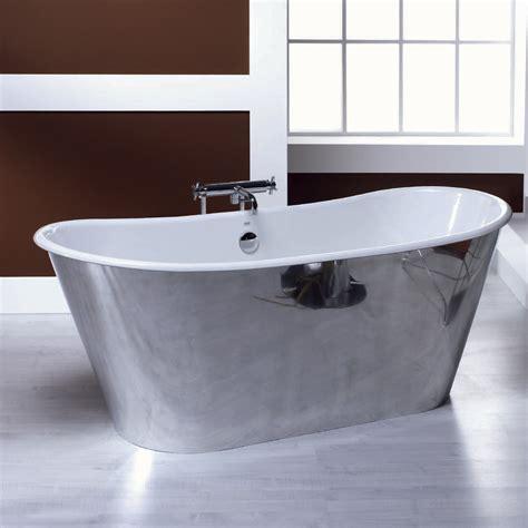 vasca da bagno ghisa vasca da bagno freestanding in ghisa placcata alluminio ida