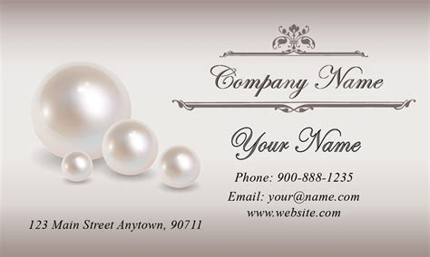 earring card template with company name great names for a jewelry business style guru fashion