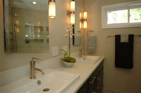 Glamorous Bathroom Lighting Modern Bathroom Lighting This Simple Feature Pendant Suits The Simplistic Element Of This