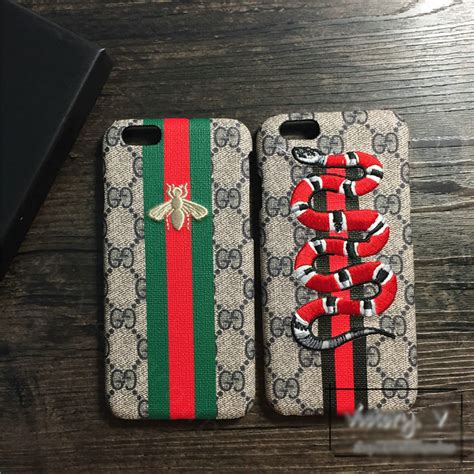 Iphone 8 Plus Gucci by Buy Wholesale Gucci Pattern Embroidery Snake Leather Back Cover For Iphone 8 Plus