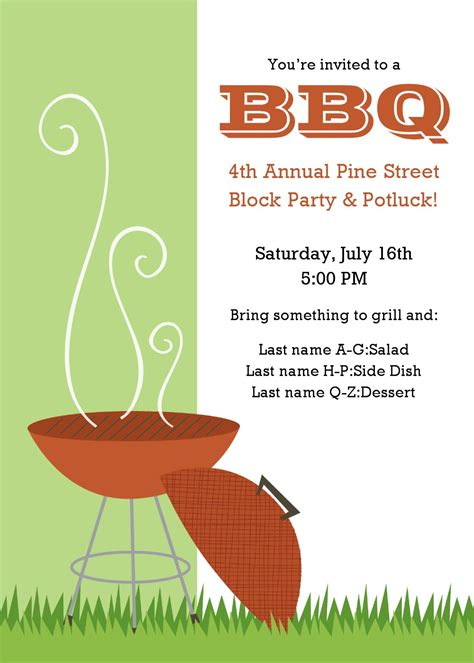 bbq invitations templates free 20 free barbeque flyer templates demplates