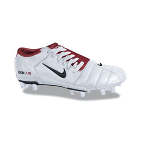 nike air zoom total 90 iii fg soccer shoes (white/red