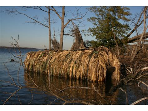 attaching duck blind to boat avery killerweed boat blind kit