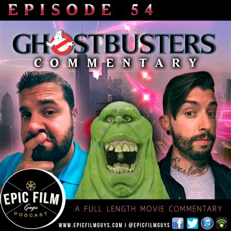 film ggs episode 244 full episode 054 ghostbusters 1984 live commentary