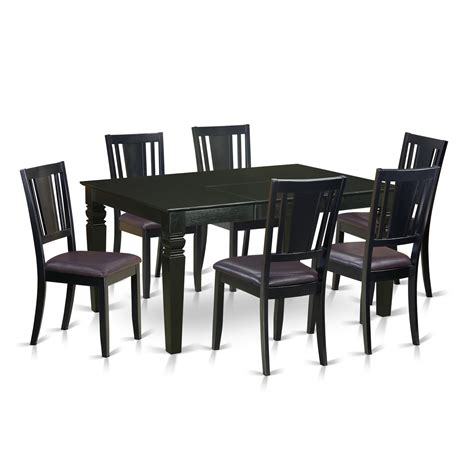 kitchen and dining room furniture wooden importers weston 7 piece dining set wayfair