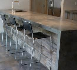 Stainless Steel Backsplashes For Kitchens 15 Must See Concrete Countertops Pins Stained Concrete