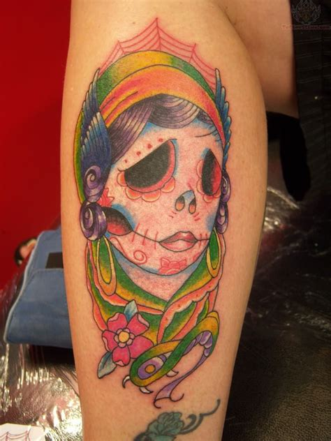 rare tattoos sugar skull images designs