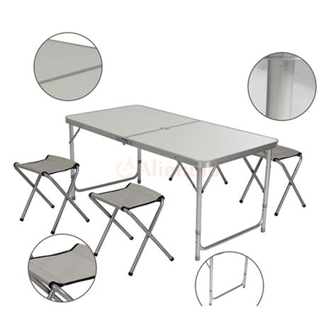 3 Foot Folding Table Folding Table 3 Ft Portable Plastic Indoor Outdoor Picnic C Tables Ebay