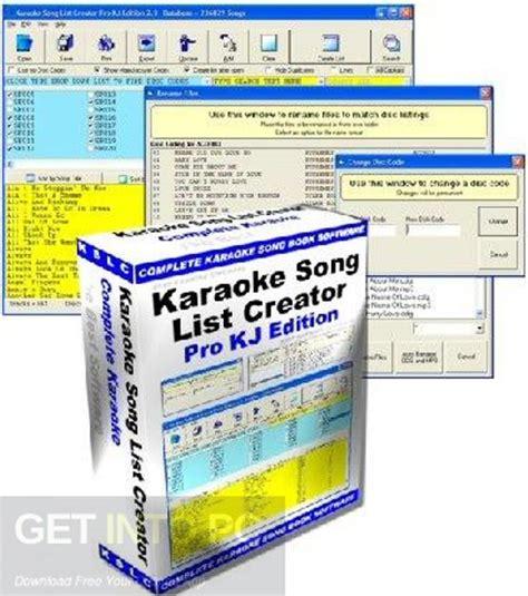 karaoke maker software free download full version karaoke song list creator free download