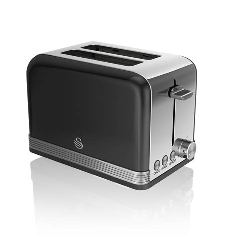 Retro Stainless Steel Toaster Swan 2 Slice Retro Stainless Steel Toaster Cancel Defrost
