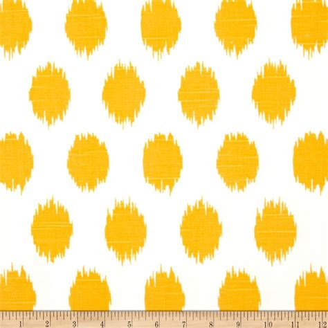 yellow pattern material premier prints jo jo slub corn yellow discount designer